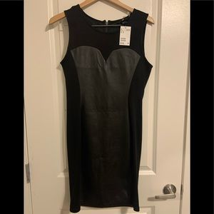 🌈H&M  faux leather dress size Medium